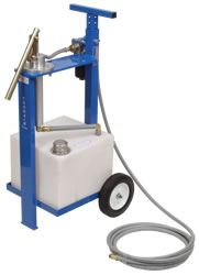 Hydraulic Engine Oil Dispenser Service Cart 8 Gal