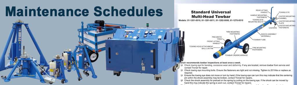 maintenance schedules tronair aircraft ground support equipment rh tronair com